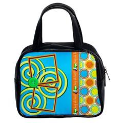 Boy Oh Boy Bag 2sides By Angel   Classic Handbag (two Sides)   E753e5j50xzd   Www Artscow Com Front