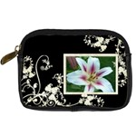 Creme Swirls camera case template - Digital Camera Leather Case