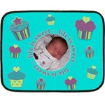 Life Is Sweet Baby Blanket - Mini - Fleece Blanket (Mini)