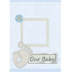 Baby Card By Joely   Greeting Card 5  X 7    7n3ydmoa5a21   Www Artscow Com Front Cover