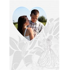 Wedding Card #2 By Lil    Greeting Card 5  X 7    Pgl7ocv858v1   Www Artscow Com Front Cover