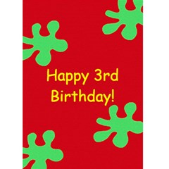 Fun & Bright Birthday Card   1 By Mim   Greeting Card 5  X 7    Xphx35s0j0h8   Www Artscow Com Front Cover