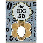 50th Birthday Card - Greeting Card 5  x 7
