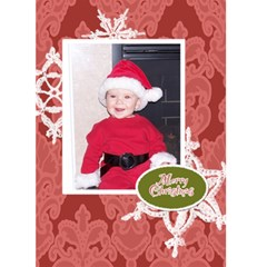 Making Spirits Bright 2 5x7 Christmas Card By Klh   Greeting Card 5  X 7    1afcfrtic1xv   Www Artscow Com Front Cover