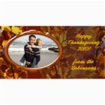 Personalized Thanksgiving Photo Cards - 4  x 8  Photo Cards
