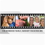 Filmstrip 3 Photos Cards - 4  x 8  Photo Cards
