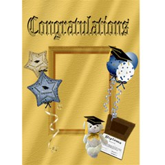 Grad Card 1 By Snackpackgu   Greeting Card 5  X 7    Fqcpbcdae9xl   Www Artscow Com Front Cover