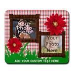 Summer Picnic Mousepad, 2 Photos - Large Mousepad