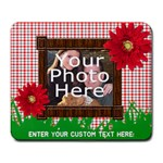 Cute Summer Photo Mousepad, One Photo - Large Mousepad