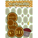 birthday card - Greeting Card 5  x 7