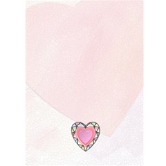 Love Card #1 By Lil    Greeting Card 5  X 7    Phqpl9mj39op   Www Artscow Com Back Cover