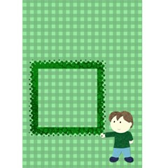 Boy Card By Claudia Sachs   Greeting Card 5  X 7    Dn1v59r4sp71   Www Artscow Com Front Cover