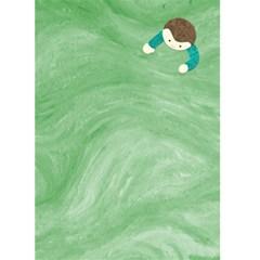 Boy Card By Claudia Sachs   Greeting Card 5  X 7    Dn1v59r4sp71   Www Artscow Com Back Inside