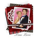 Ture love - Greeting Card 5  x 7