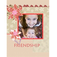 Friendship By Gary Bush   Greeting Card 4 5  X 6    Jt4zyyt98v22   Www Artscow Com Front Cover