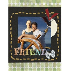 Friendship By Gary Bush   Greeting Card 4 5  X 6    Hivuzpbgjzg6   Www Artscow Com Front Cover