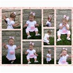 Sophie s 1st Birthday photos - Collage 8  x 10