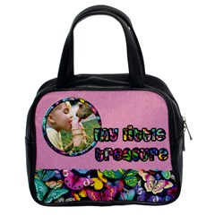 My Little Treasure Pink   Bag By Carmensita   Classic Handbag (two Sides)   249krgggfgtd   Www Artscow Com Front