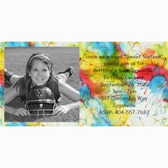 Brittany Birthday By Connie Rodgers   4  X 8  Photo Cards   Jmqoubx4eu4d   Www Artscow Com 8 x4 Photo Card - 5