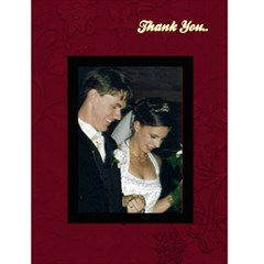 Thank You Card By Susie Fisher   Greeting Card 4 5  X 6    Sym9e4k4yjtv   Www Artscow Com Front Cover