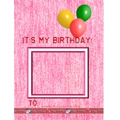 Birthday Card 4 5x6 By Angel   Greeting Card 4 5  X 6    Oowxp35jr8v8   Www Artscow Com Front Cover