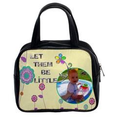 Showoff Bag By Lil    Classic Handbag (two Sides)   6wm2b0999oxu   Www Artscow Com Front