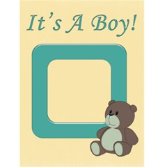It s A Boy By Rubyjanedesigns   Greeting Card 4 5  X 6    4t7oejc4ojnl   Www Artscow Com Front Cover