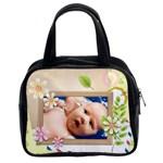 flower  Bag - Classic Handbag (Two Sides)