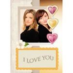 I Love You - Greeting Card 5  x 7