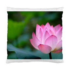 Pink Flower Cushion Case (one Side) by ironman2222