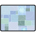 Baby Boy Patchwork Quilt - Extra Large Blanket - Fleece Blanket (Large)