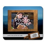 Travel Vacation Photo Mousepad - Large Mousepad