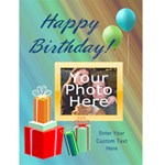 Photo Birthday Cards - Greeting Card 4.5  x 6