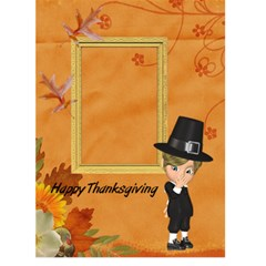 Thanksgiving 1 By Snackpackgu   Greeting Card 5  X 7    S78asmkht3dd   Www Artscow Com Front Cover
