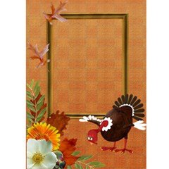 Thanksgiving 1 By Snackpackgu   Greeting Card 5  X 7    S78asmkht3dd   Www Artscow Com Front Inside