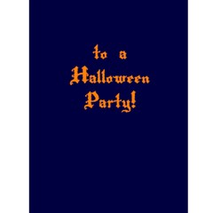 Halloween Party Invitations By Angela   Greeting Card 4 5  X 6    2a71yw38040o   Www Artscow Com Front Inside
