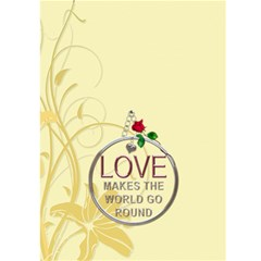 Key To My Heart Card By Lil    Greeting Card 5  X 7    R1uq4orcxljb   Www Artscow Com Back Cover