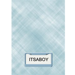 It s A Boy Card By Lil    Greeting Card 5  X 7    Pnxzlp3anegf   Www Artscow Com Back Cover