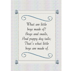 It s A Boy Card By Lil    Greeting Card 5  X 7    Pnxzlp3anegf   Www Artscow Com Front Inside