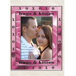 Hugs & Kisses Card - Greeting Card 5  x 7