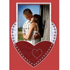 Valentine Card #1 By Lil    Greeting Card 5  X 7    Ircbrjndejor   Www Artscow Com Front Cover