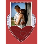 Valentine Card #1 - Greeting Card 5  x 7