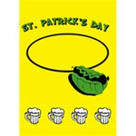 ST PATRICK DAY - Custom Greeting Card 5  x 7