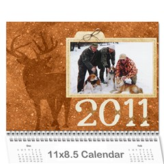 2011 For Grandpa By Elizabeth Marcellin   Wall Calendar 11  X 8 5  (12 Months)   Uut4xqhelj40   Www Artscow Com Cover