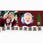 christmas card 2010 template - 4  x 8  Photo Cards