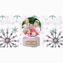 Winter Holiday Christmas Card By Danielle Christiansen   4  X 8  Photo Cards   K7bly6dqd37e   Www Artscow Com 8 x4 Photo Card - 4