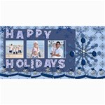 happy holidays christmas cards - 4  x 8  Photo Cards