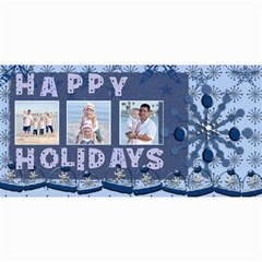 Happy Holidays Christmas Cards By Danielle Christiansen   4  X 8  Photo Cards   1kpbivrj68jr   Www Artscow Com 8 x4 Photo Card - 3
