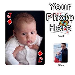 Jack Cards By Catherine   Playing Cards 54 Designs   49q7qn615050   Www Artscow Com Front - DiamondJ