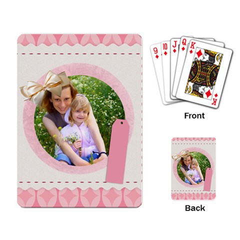 Thank You Your Love By Joely   Playing Cards Single Design   S2dvvl5zlxhy   Www Artscow Com Back